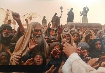 Scense of the Movie: Prophet Muhammad